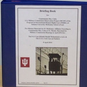 IU McKinney PIHRL MCOP Briefing Book.