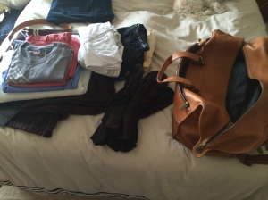 Packing for my week at Fort Meade