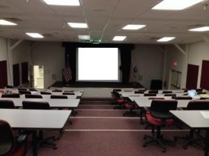 Auditorium in Smallwood Hall