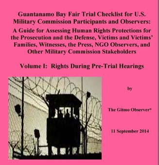 front cover - Guantanamo Bay Fair Trial Checklist
