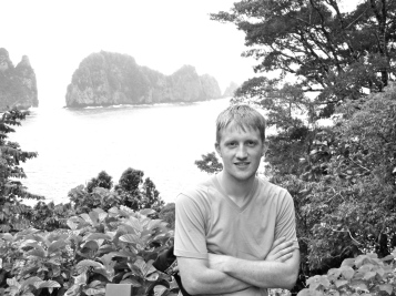 Photo of me taken during the 2014 summer in Pago Pago, American Samoa, during my IU McKinney Law International Human Rights Law internsip.