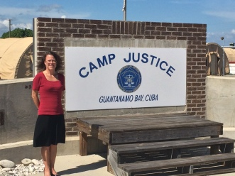 Hattie Harman - at GTMO - Camp Justice - 17 June 2014 - IMG_1097