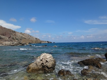 One of the many beautiful beaches at Guantanamo Bay, Cuba