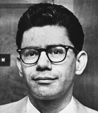 Ernesto Miranda, 1967, the defendant in the landmark U.S. Supreme Court case that bears his name