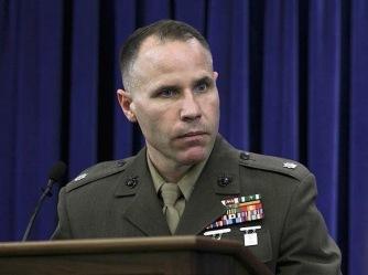 Hadi al Iraqi's former defense counsel, US Marine Corps Lieutenant Colonel Thomas Jasper.