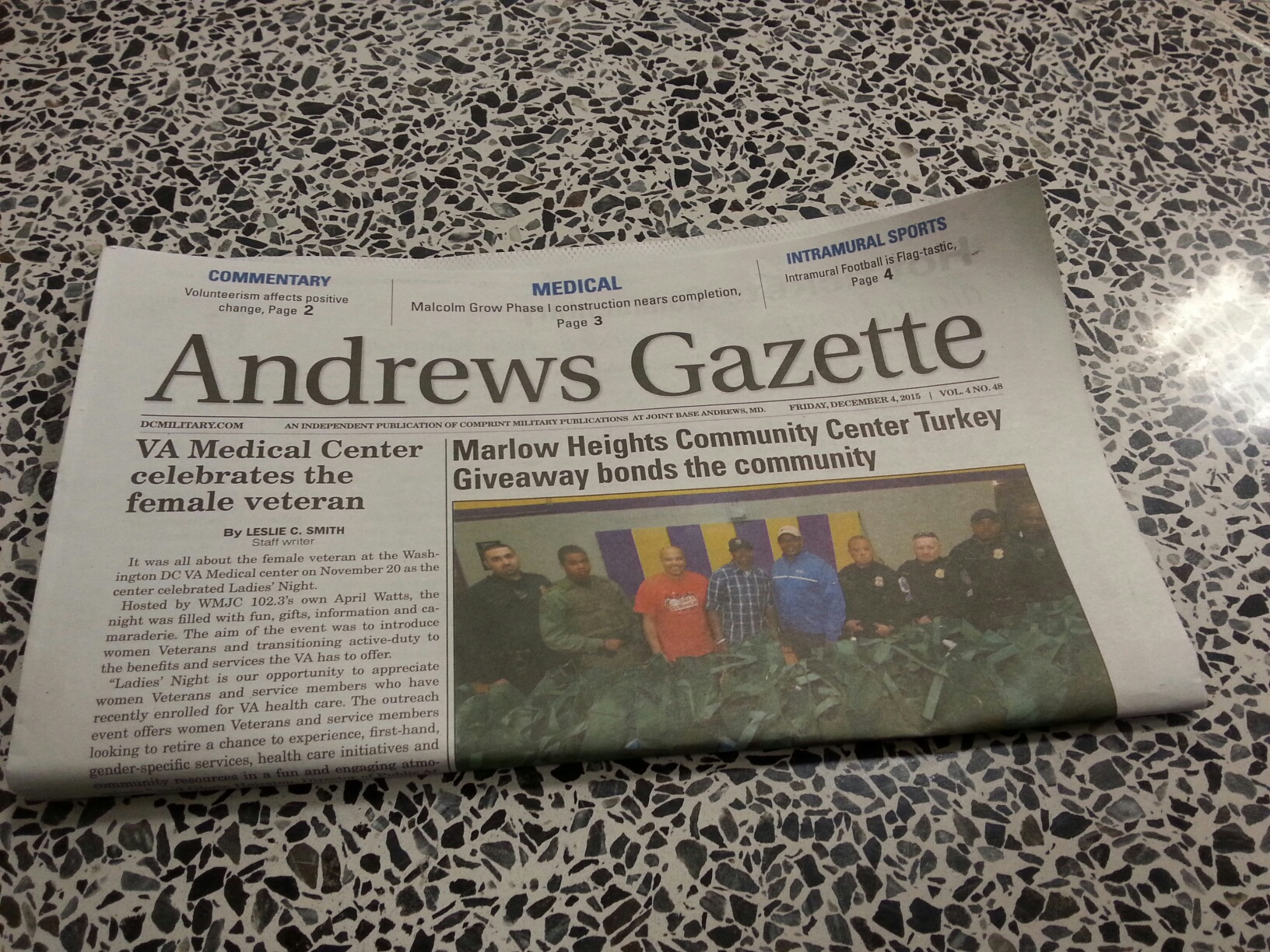 Andrews gazette