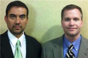 Walter Ruiz and Sean Gleason - Two lawyers for Mr. al-Hawsawi