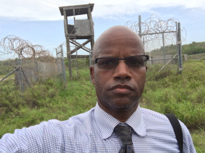 At Camp X-Ray, Guantanamo Bay