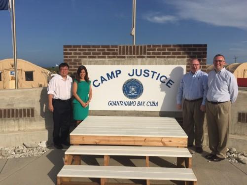 NGOs at Camp Justice
